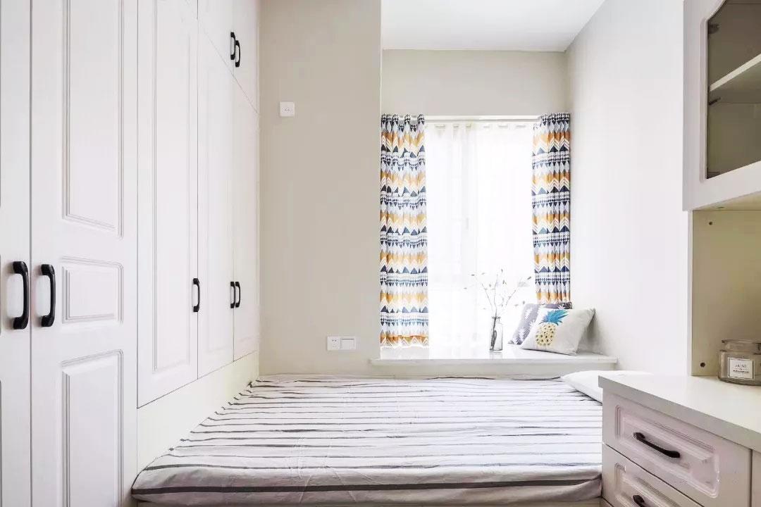 118平方室內衣柜床整體裝修設計圖