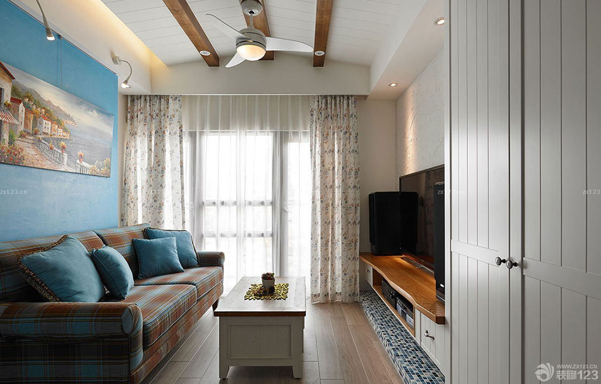 客廳吊頂設計裝修效果圖片欣賞
