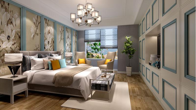 現代時尚別墅起居室設計圖片大全