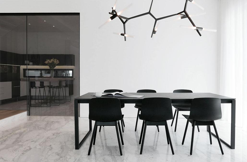 北歐大戶型室內餐廳裝修圖片
