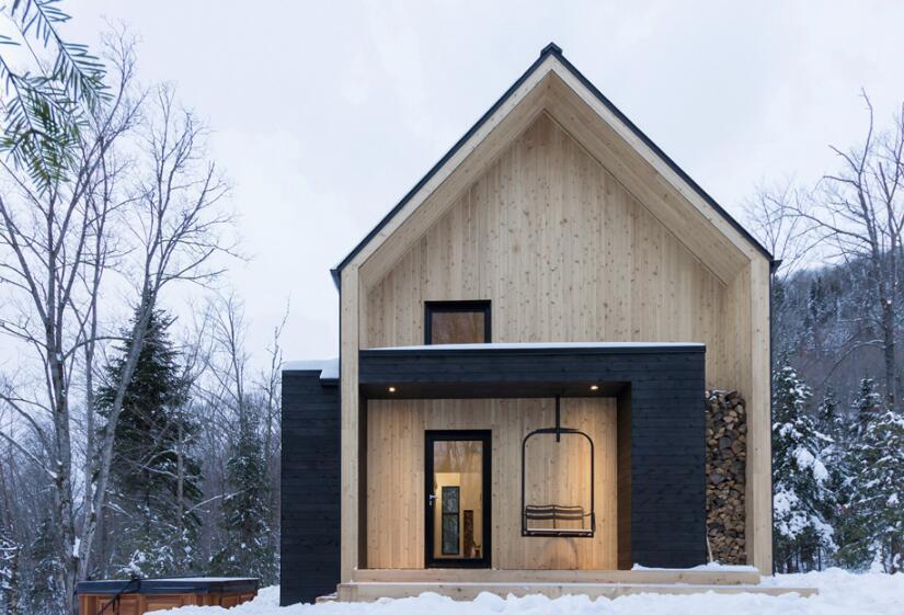 獨立小木屋別墅設計圖片大全