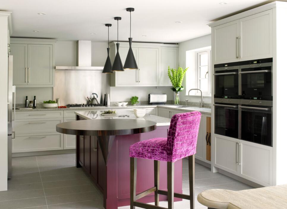 高級廚房整體櫥柜設計效果圖