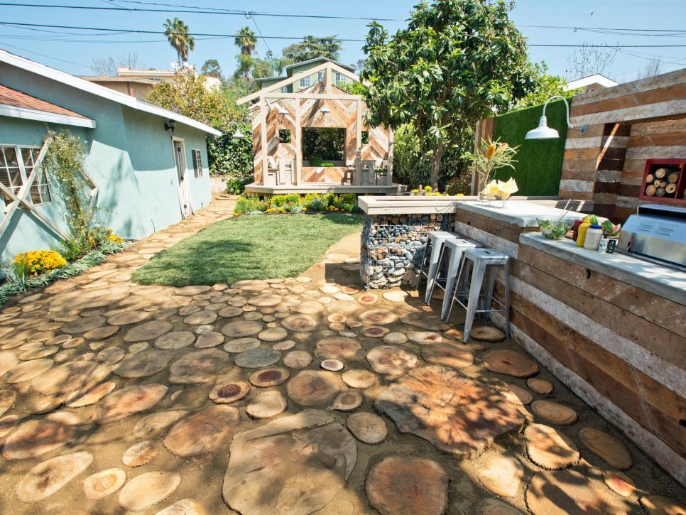 國外私人庭院休閑角設計圖片