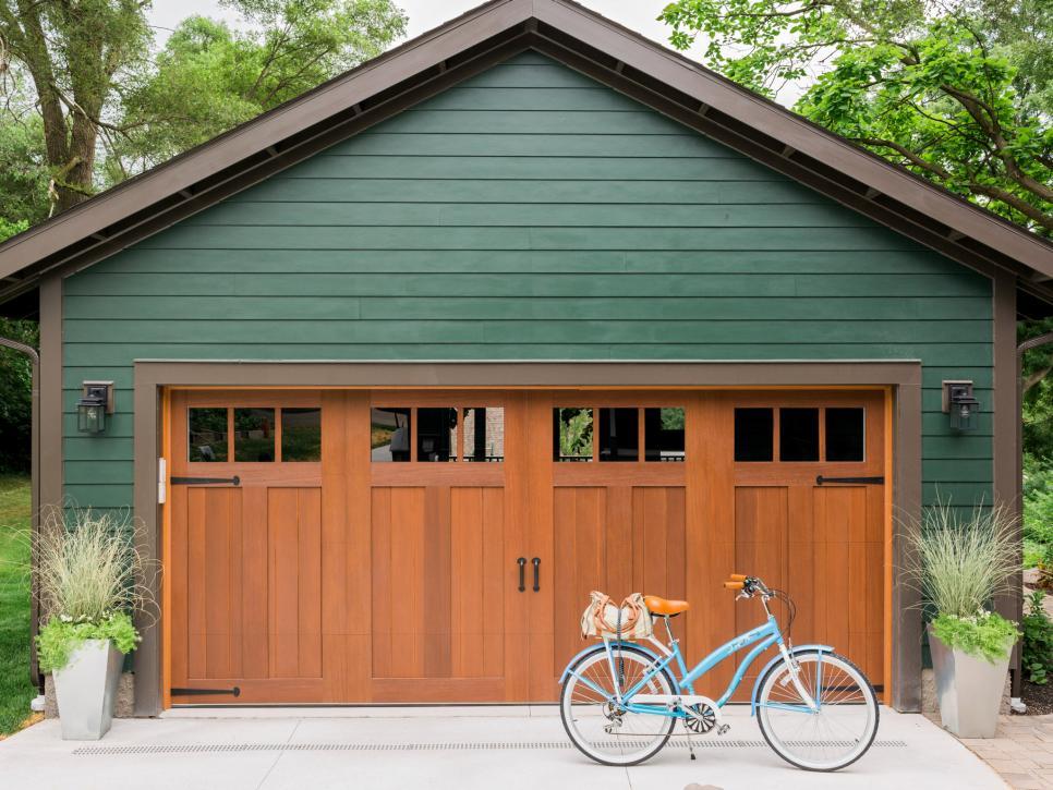 國外庭院車庫外觀設計圖片