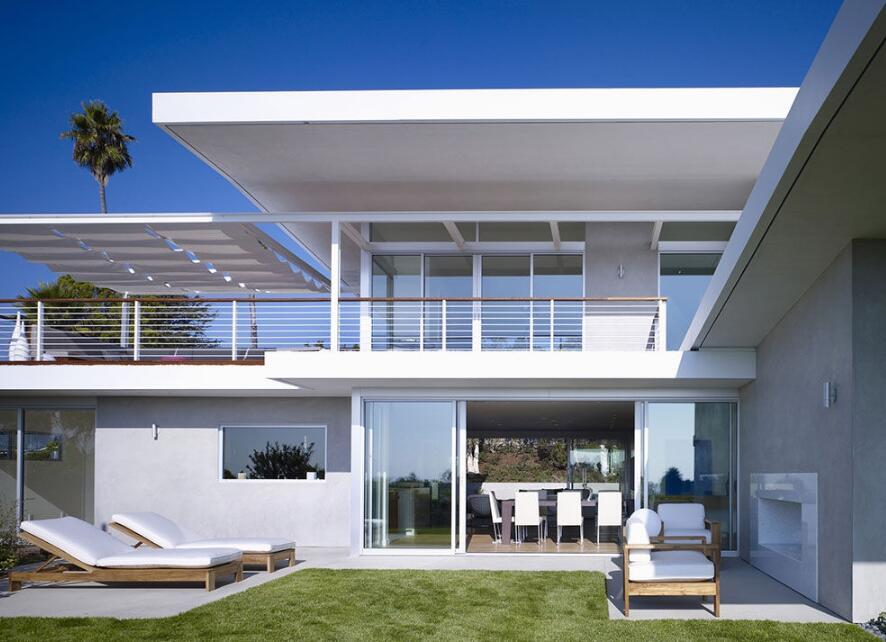 兩層別墅外觀設計案例圖片大全