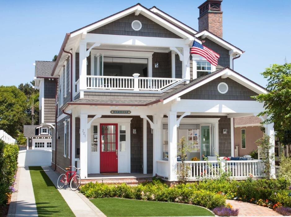 歐式風格花園洋房樣板房外觀設計效果圖