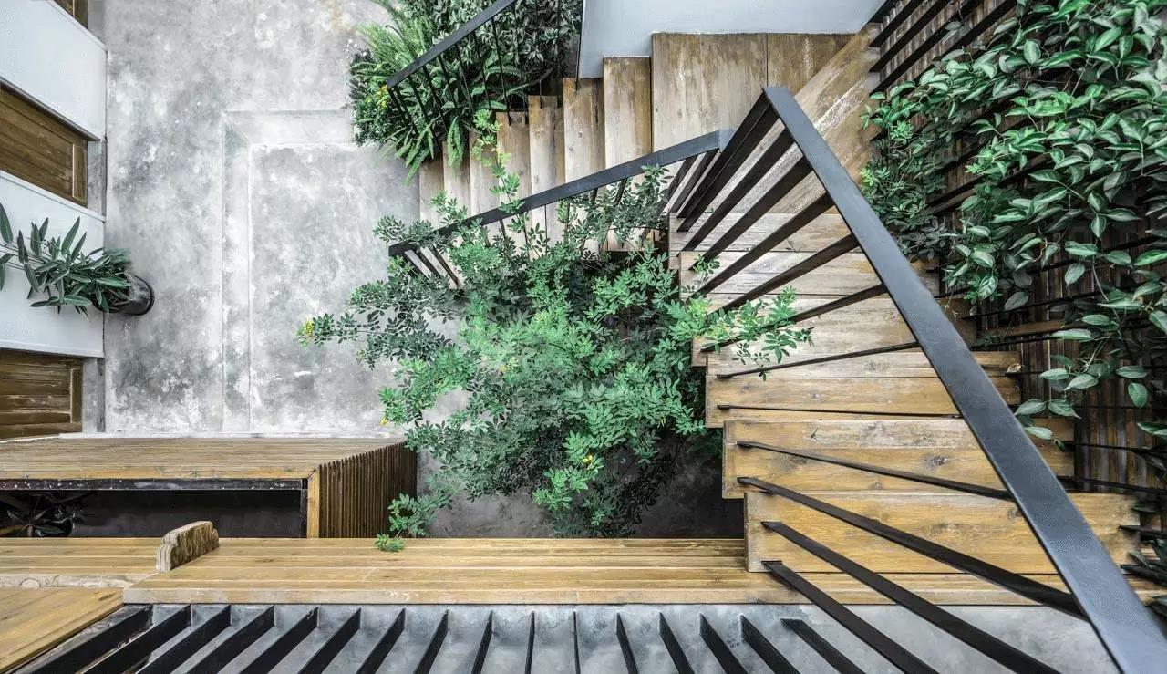 清新日式風格別墅庭院裝修效果圖