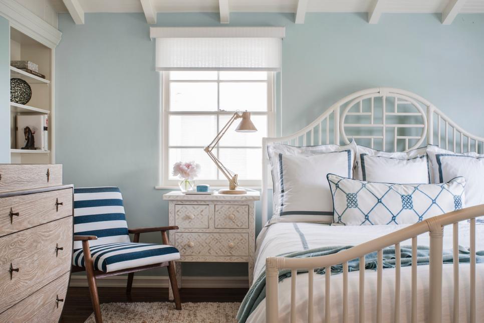 2019溫馨北歐風格主臥室房間設計圖片