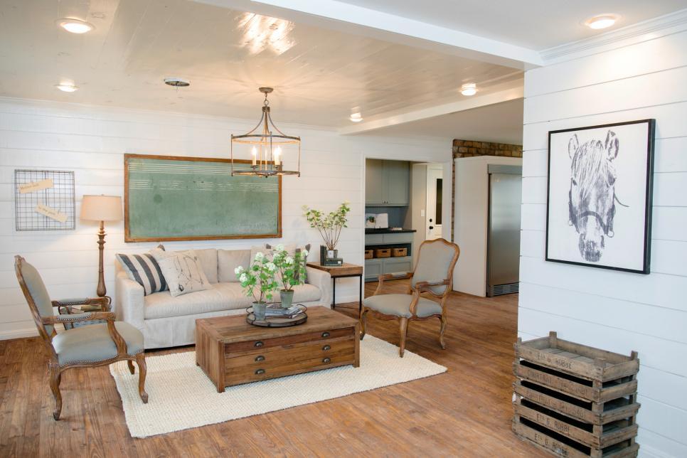 2019現代復古風格別墅客廳沙發設計圖片