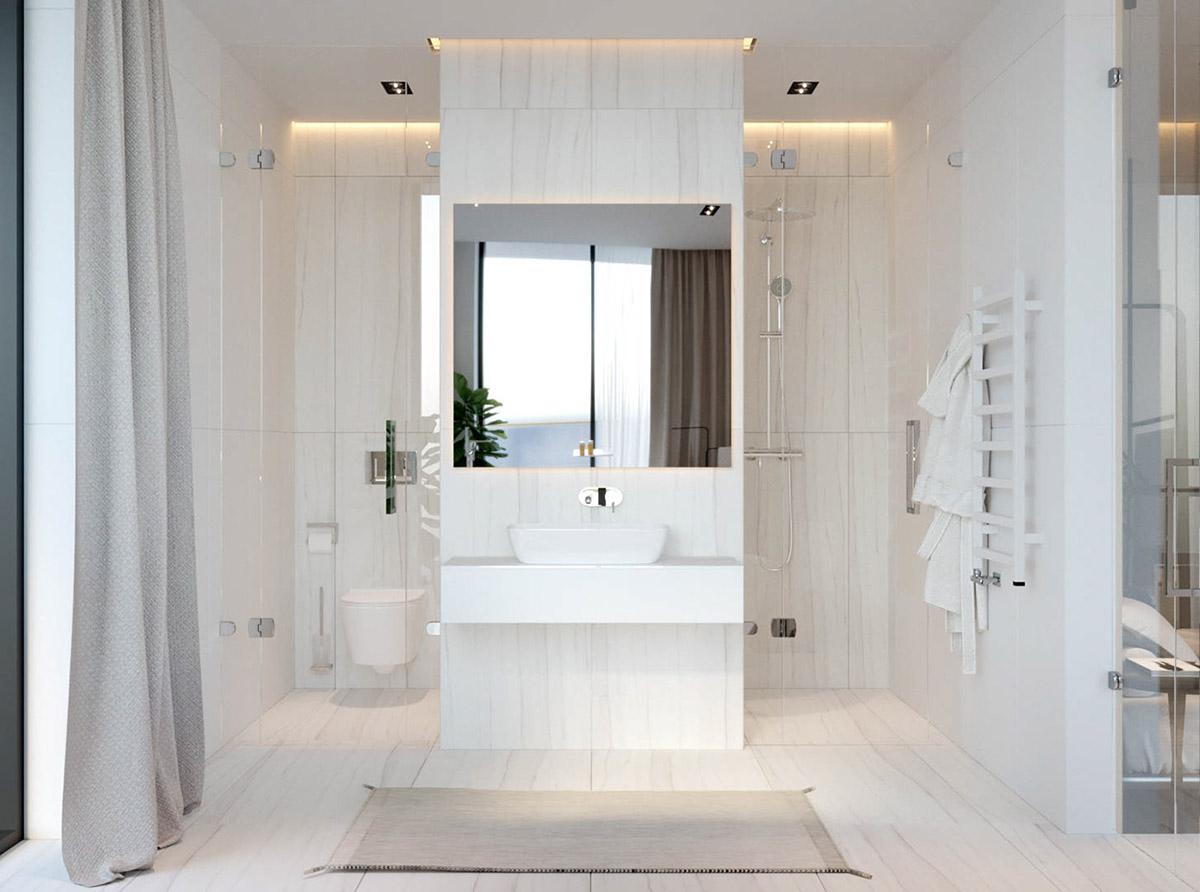 38平米小戶型樣板房衛生間裝潢圖片