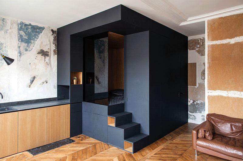 38平米小戶型樣板房創意裝修實景圖