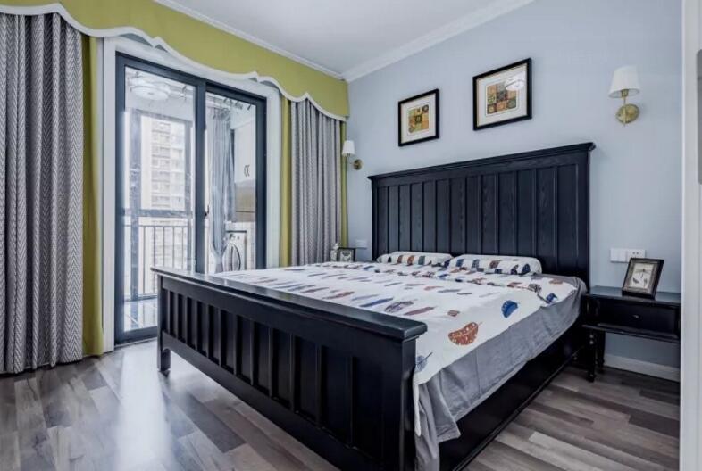 81平米歐式古典風格臥室裝修效果圖片大全