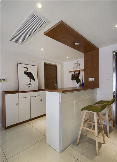 奧林匹克花園93平米兩居室現代簡約風格玄關裝修效果圖