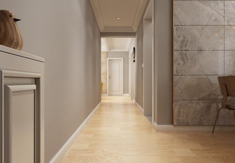 鉑宮時代100平米兩居室現代風格玄關裝修效果圖