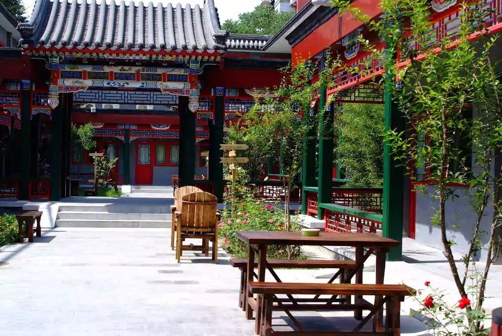 北京四合院別墅經典裝修圖片