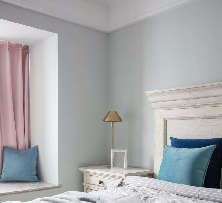 北歐現代風格100平米二居臥室裝修設計圖片