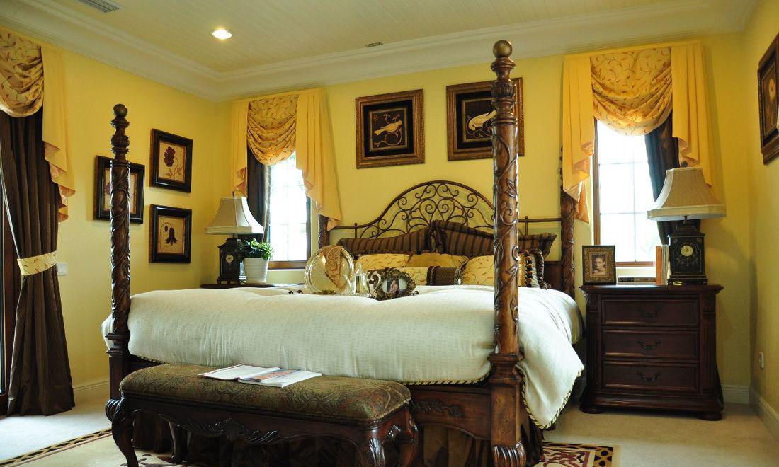 別墅窗簾設計裝修圖片