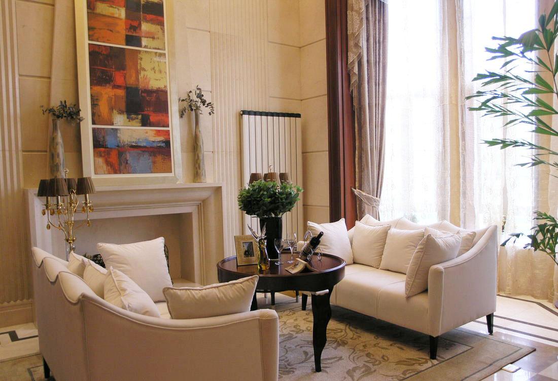 別墅窗簾設計裝修效果圖片欣賞