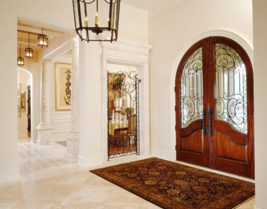 別墅大門拱形門洞裝修效果圖片大全欣賞