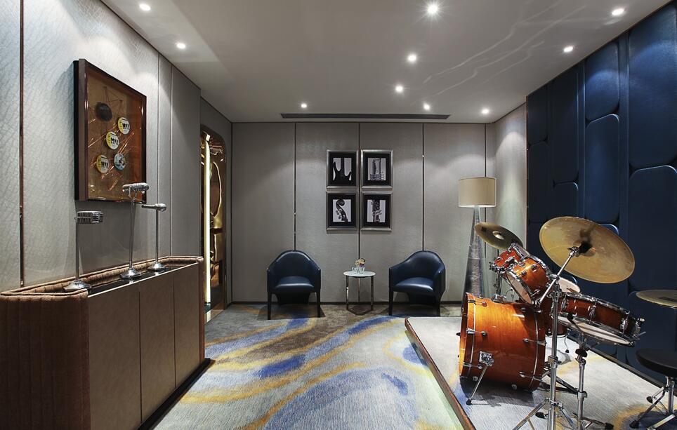 別墅地下室娛樂室設計案例圖片