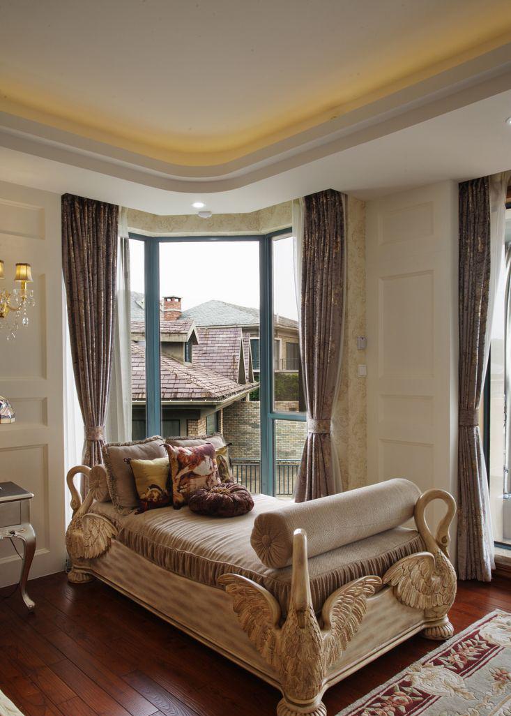 別墅室內窗簾設計裝修圖片欣賞