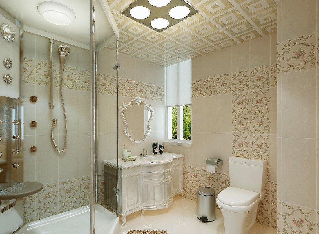 別墅衛生間瓷磚室內裝飾設計效果圖欣賞