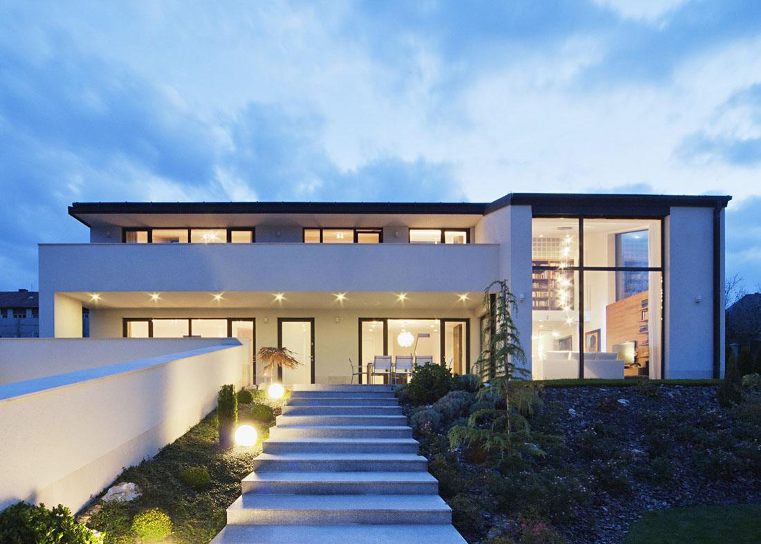 超現代家裝大型別墅外觀設計效果圖片