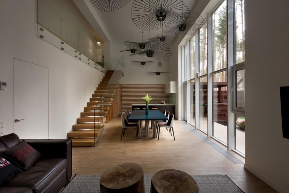 大戶型房子復式樓整體裝潢設計圖片
