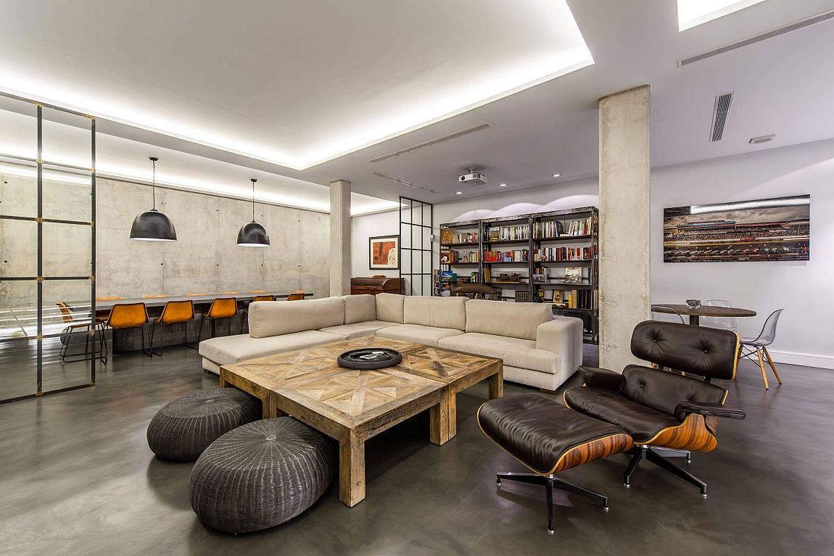 大戶型客廳室內創意休閑椅裝修圖片