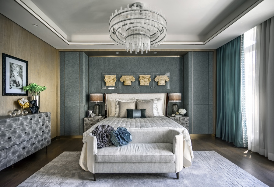 大戶型歐式臥室室內裝修圖片