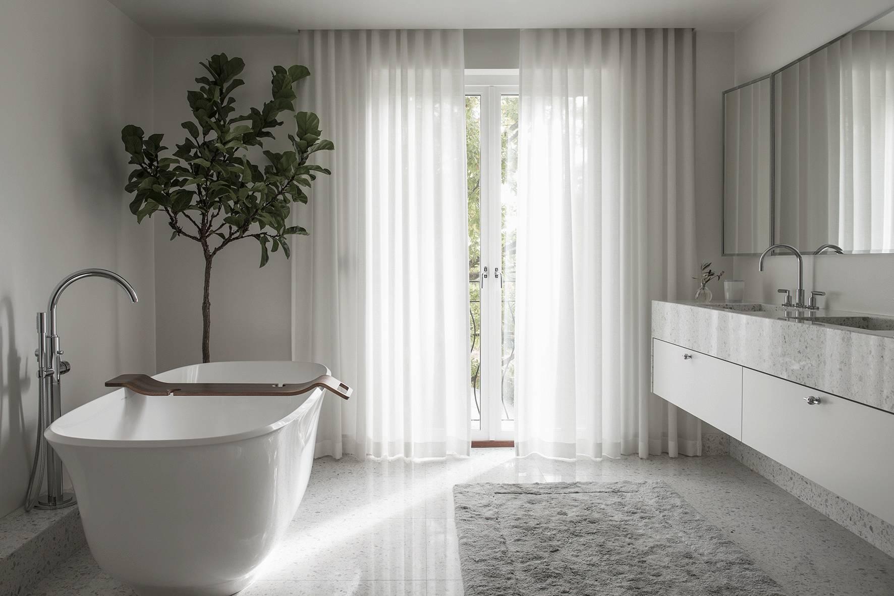 大戶型室內浴室裝潢裝修設計圖片