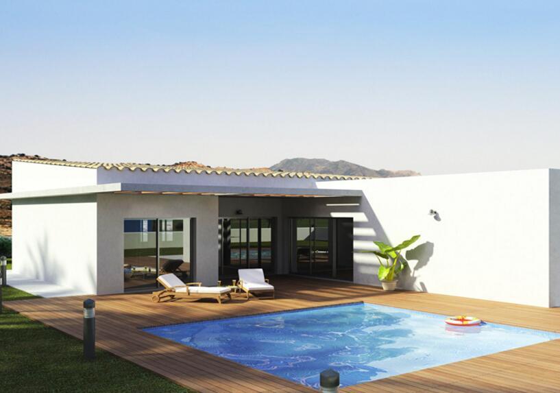 獨立小別墅帶游泳池裝修設計圖片