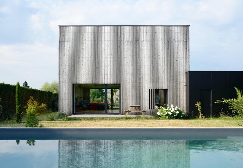 獨立小別墅外墻造型設計效果圖片一覽