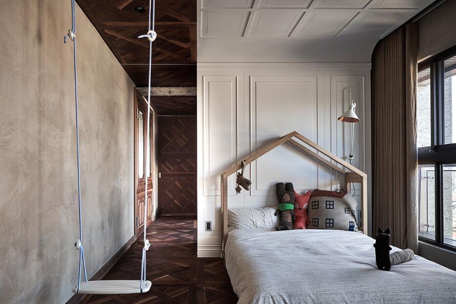 獨立小別墅臥室創意裝修圖片