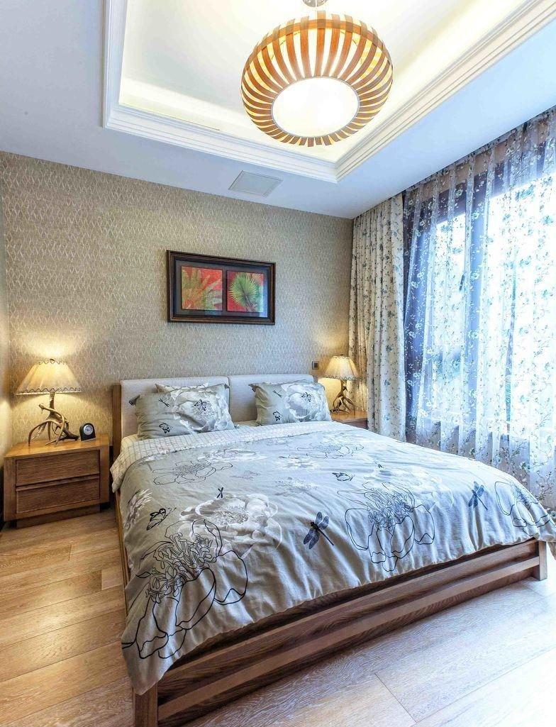 東南亞風格老人房裝修效果圖圖片