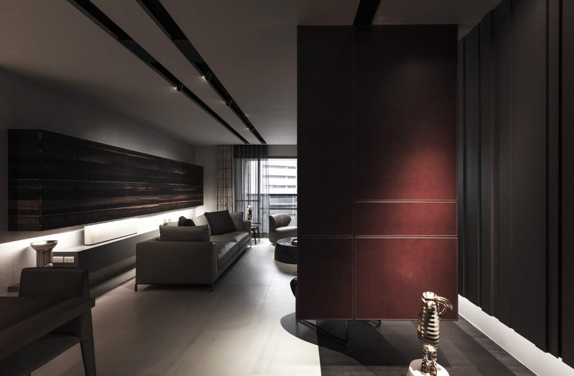 單身公寓房屋玄關創意設計效果圖