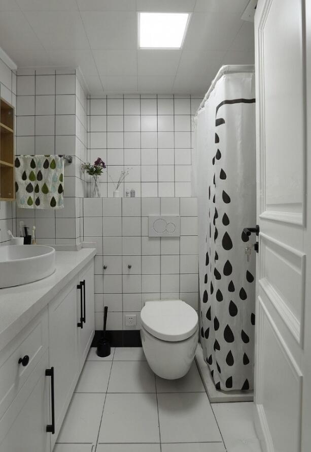 單身公寓樣板房衛生間北歐風格裝修
