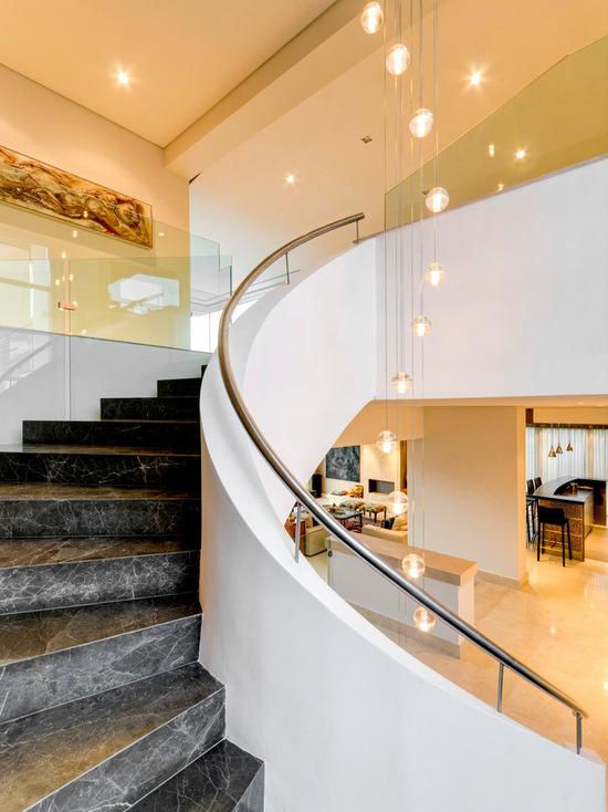 二層別墅樓梯設計效果圖片欣賞