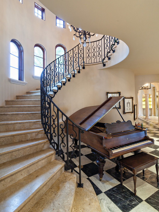 二層別墅樓梯設計裝修圖片大全