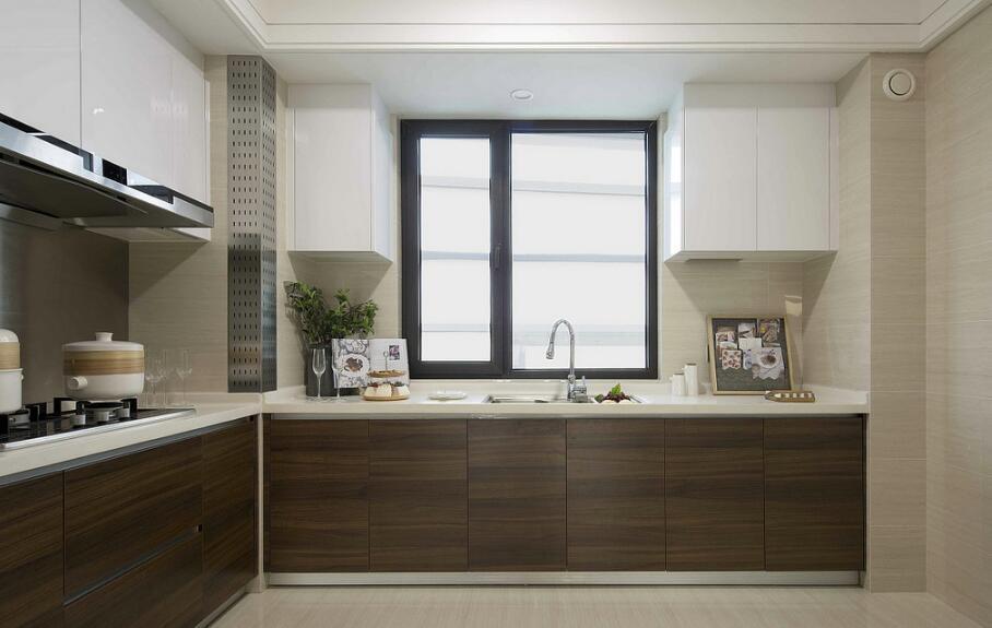 二室二廳樣板間廚房裝修圖片賞析