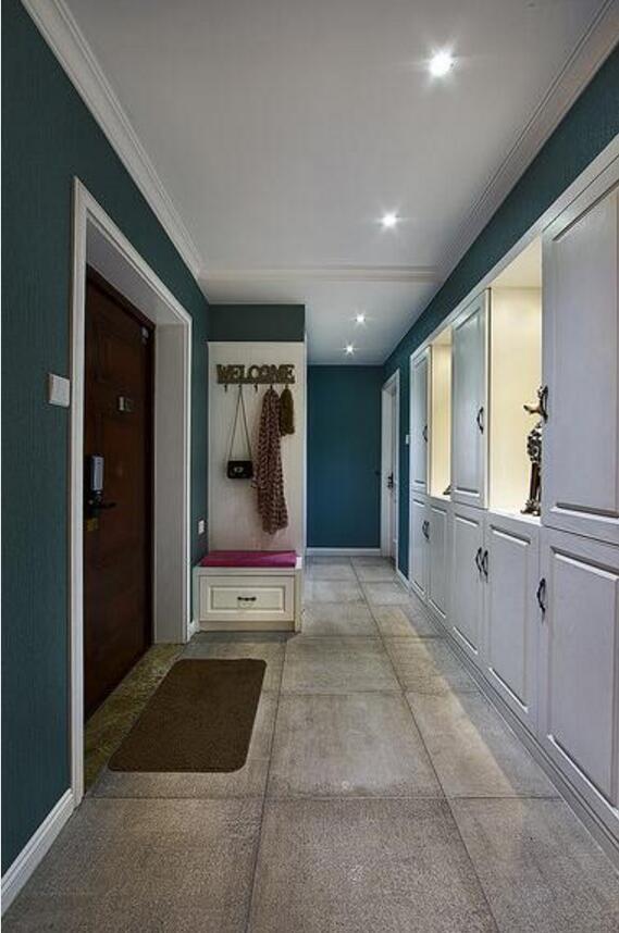 房屋入戶玄關吊頂設計效果圖片欣賞