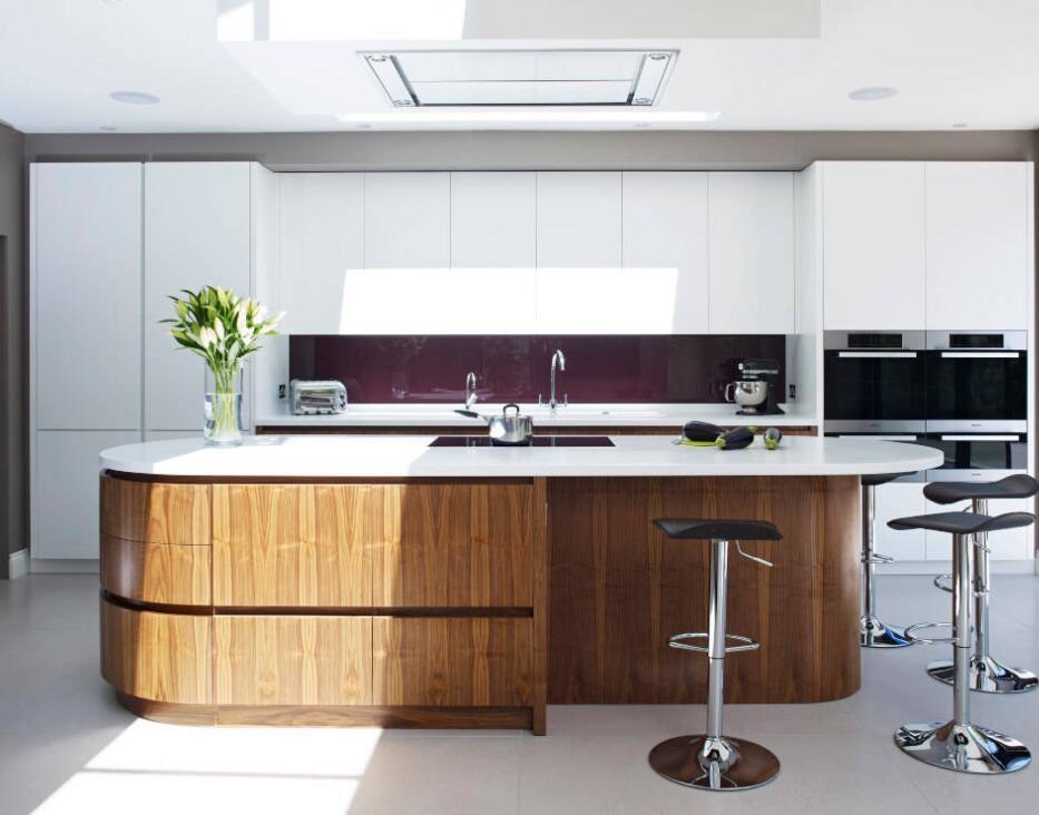 高級住宅時尚廚房設計裝修效果圖