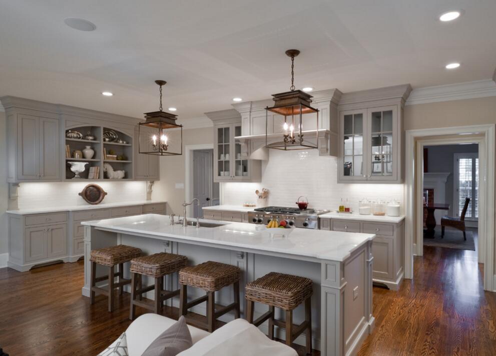國外家庭高級廚房設計裝修效果圖
