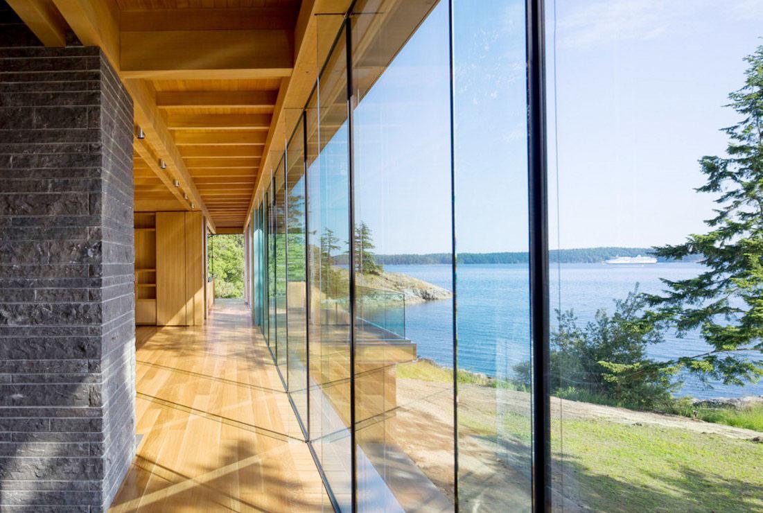 海景別墅室內玻璃房效果圖片