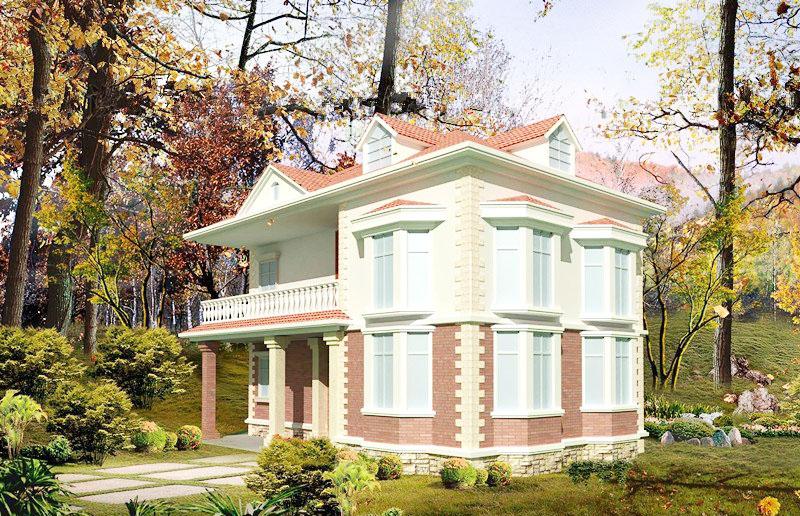 經典獨棟洋房別墅外觀圖片