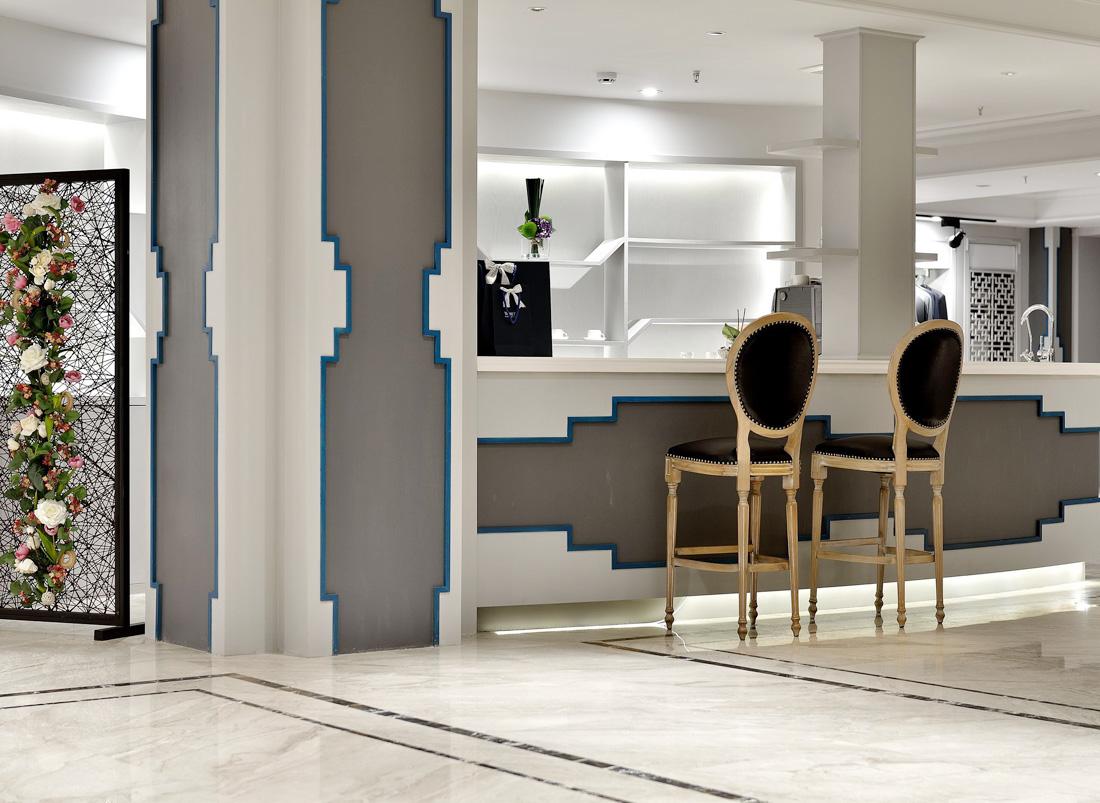 經典時尚中式風格家居別墅吧臺設計效果圖