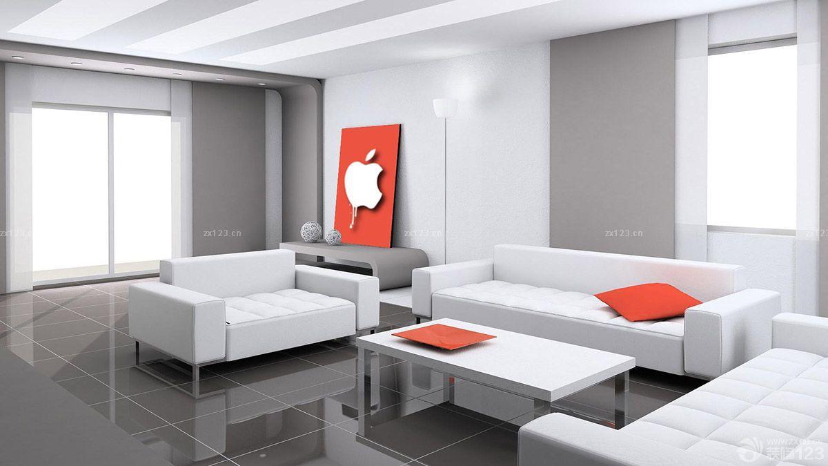 交換空間現代簡約家裝客廳裝修圖片