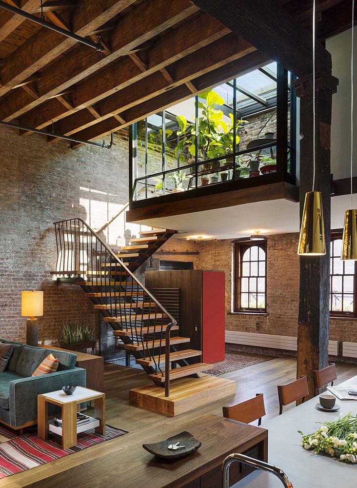 家庭別墅頂樓送閣樓裝修設計圖