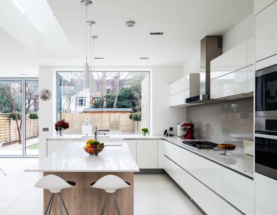 家庭開放式高級廚房設計圖片大全