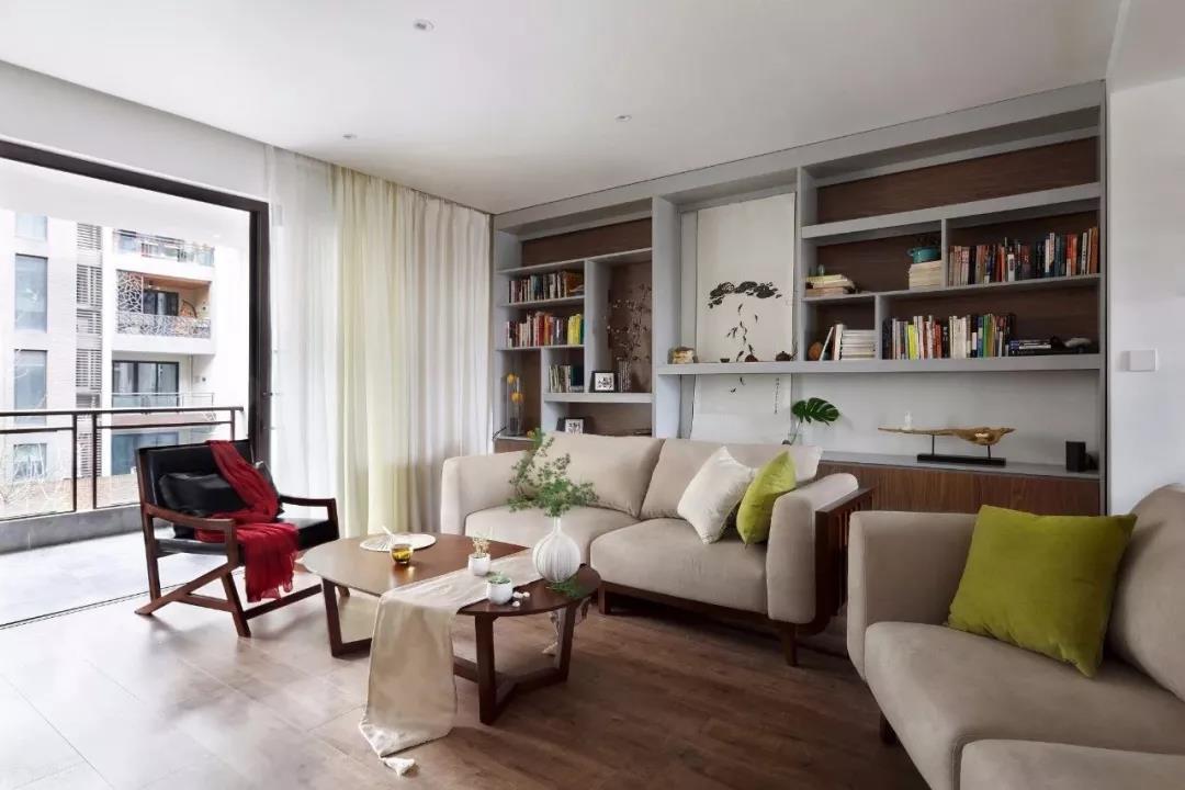 簡約風格123平米三居客廳沙發布置圖片